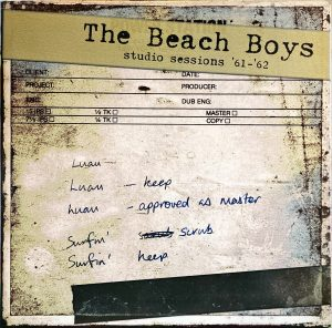 Beach Boys, The - Studio Sessions '61-'62