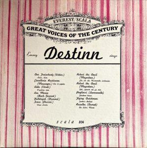 Emmy Destinn - Emmy Destinn Sings