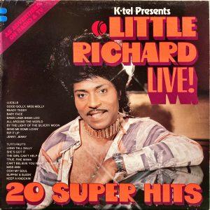 Little Richard - K-tel Presents Little Richard Live! 20 Super Hits
